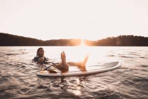 wakesurf eau palonnier corde skim