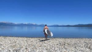 paddle pagaie sup gonflable eau lac board