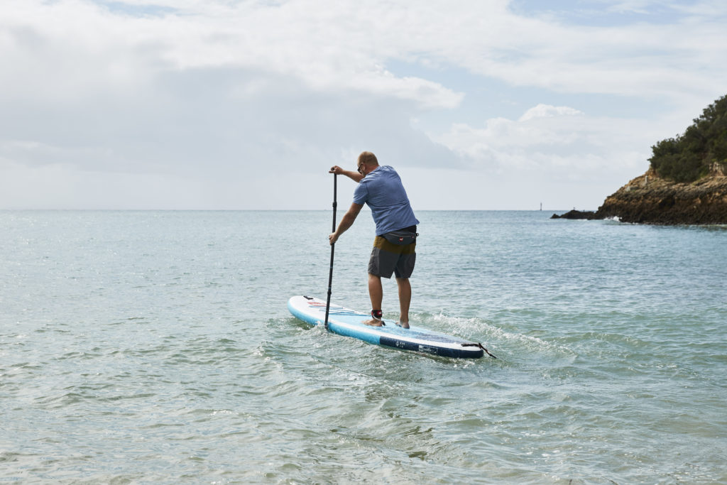 planche stand paddle conseils sport gonflable coups position race