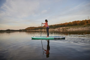 paddle gonflable planche corps pagaie exercice travaille