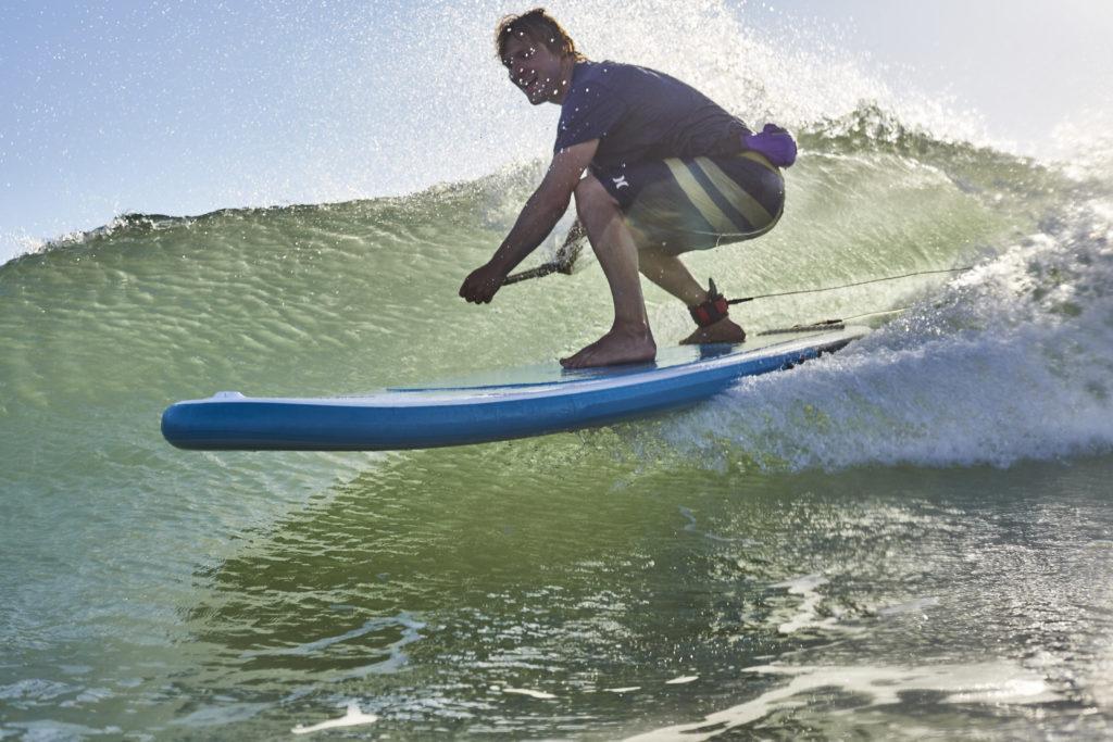stand paddle sup surf vague sport conseil pieds choix avis
