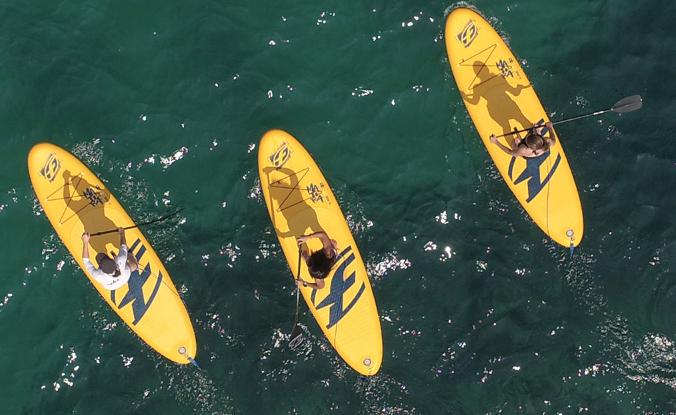 stabilité guide rigidité épaisseur transport achat paddle gonflable pagaie