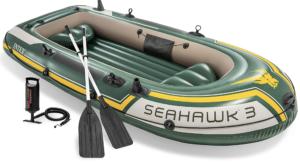 bateau intex seahawk gonflable pêche 3 personnes pneumatique modèles meilleurs taille eur sac poids avis type
