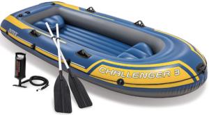 intex bateau challenger 3 personnes pvc gonflable gonflables rames pompes produit modèle